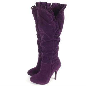 Qupid Ruffle Edge Full Zip Boots